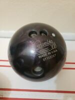 Columbia 300 Scout Reactive Bowling Ball Purple Sparkle Swirl 13.8 Pound B014
