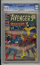 Avengers #33 CGC 9.2 NM- Unrestored Marvel Twin Cities Pedigree