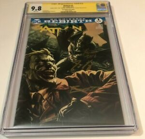 DC Comics BATMAN #1 CGC 9.8 NEW ENGLAND VARIANT SIGNED BY BANNING KING FINCH
