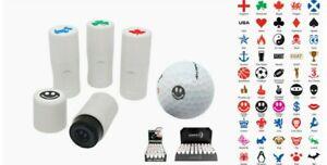 ASBRI GOLF BALL STAMPER, GOLF BALL MARKER - GOLF GIFT OR PRIZE. VARIOUS DESIGNS