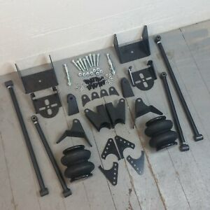 4 Link Kit for 1949-1964 Studebaker Rear Suspension w/2600lb.  Bags-Brackets