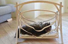 Cat Swings Wood Bed Pets Wood Hammock Basket Cat Furniture Cat Cave Cat Shelter