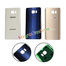 Per Samsung Galaxy Note 5 N920 Copribatteria Vetro posteriore rear Adesivo