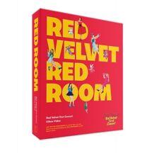RED VELVET 1st concert Red Room K-POP KIHNO VIDEO + POSTCARD SET SEALED