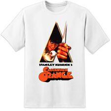 CLOCKWORK ORANGE T-SHIRT VINTAGE - STANLEY KUBRICK MOVIE - MILK BAR ALEX PRINT