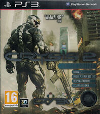 Crysis 2 Limited Edition, Sony Playstation 3, PS3 game complete, USED