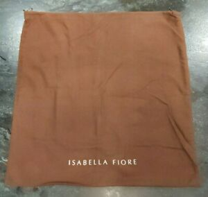 Authentic Isabella Fiore Drawstring Travel Dust Storage Bag Cover 22x23 inches
