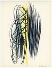 Hans Hartung original lithograph - printed in 1959