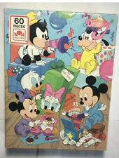 1984 Disney Babies 60 Pieces Puzzle Golden Jigsaw