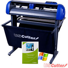 "28"" USCutter TITAN 2 Vinyl Cutter/Sign Cutting Plotter w/VinylMaster Cut/Design"
