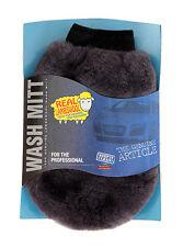 Martin Cox véritable de basane agneaux laine épaisse lavage polissage DUSTER ITTM gant