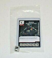 Marvel Dice Masters Civil War * VENOM * SUPER Ultra RARE Card & 1 Die