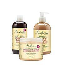 Shea Moisture Giamaicano Nero Olio di Ricino Shampoo, Balsamo & Leave Balsamo