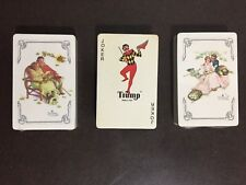 Playing Cards Trump Norman Rockwell 3 Seasons Deck Set Playing Cards Sealed