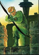 DC MASTER SERIES FOIL CARD F3 GREEN ARROW