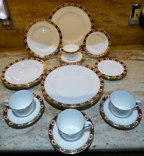 20 PIECE SEVICE FOR 4 - ROYAL CROWN DERBY - AMBASSADOR - 1984 - ENGLISH CHINA
