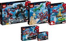 LEGO Super Heroes 76133 76134 76113 76114 76115 Full Spider Man N12/18 NEU