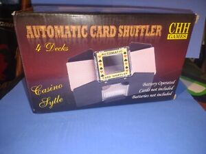 Casino 10-2709XL 4-Deck Automatic Card Shuffler