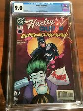 Harley Quinn #25 2002 CGC 9.0 White Pages Classic Joker, Harley and Batman Cover