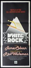 WHITE ROCK Original Daybill Movie poster RICK WAKEMAN Winter Olympic Games