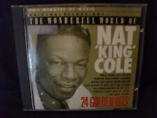 Nat King Cole – The Wonderful World Of Nat 'King' Cole - 24 Golden Hits