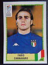 ☆ Panini Euro 2000 - Italy / Italia Fabio Cannavaro #169