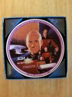 Enesco Star Trek The Next Generation Captain Picard Collectors Mini Plate!