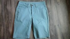 WOMENS LEE RIDER SHORTS SIZE 10 FLAT FRONT