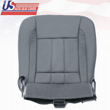 For 2009 Dodge Ram 2500 Driver Bottom Leather Replacement Seat Cover in Gray