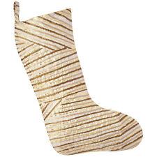 John Robshaw Textiles Zinc Christmas Stocking - Ginger