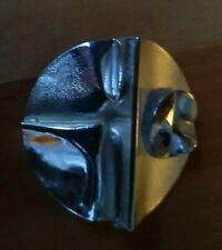 Lapponia Brosche  Designer Björn Weckström  925 Silber 33 Gramm  BIG 5,5 cm