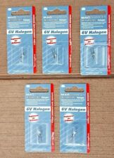 Lot of 5 Maglite LR00001 6V Halogen Bulbs for Rechargeable Flashlight