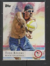 TODD ROGERS - 2012 OLYMPICS BEACH VOLLYBALL  - TOPPS #24