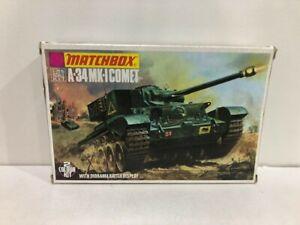 Matchbox 40072 A-34 MK-I Comet 2-colour kit 1:76 Scale unmade kit