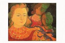 Postcard M Denis Jeune Fille Qu'on Dirait des Anges Portland Museum Art ME MINT