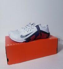 "New listing Nike Men's Metcon 6 ""Veterans Day"" White Black Red DJ3019-106 Size 7.5"