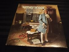 Switched-on Bach Walter Carlos Columbia masterworks 1968 MOOG Synth MS 7194 VTG