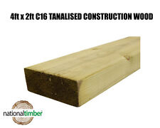4x2 C16 Tanalised Timber, Structural Graded Studwork - 3 metre (10ft) Length