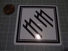 MARILYN MANSON W/B Sticker / Decal Auto Phone GLOSSY ROCK MUSIC BAND NEW
