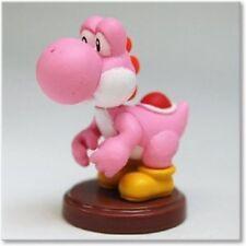 Nintendo Super Mario Bros Wii 2 Choco Egg Pink Yoshi figure Furuta Cake Topper