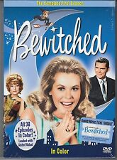 Bewitched Complete First Season NEW/Sealed With Bonus Movie Ticket (MSRP $35)