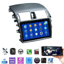 9'' Touch Screen GPS Radio Multimedia Quad Core 1+16GB For Toyota Corolla 08-13