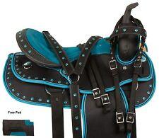 USED 16 17 WESTERN PLEASURE TRAIL BARREL RACING SHOW HORSE SADDLE TACK PAD