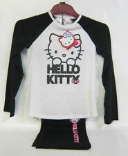 Vêtements noirs Hello Kitty pour fille de 2 à 16 ans