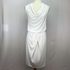 VICTORIA'S SECRET Medium M Dress Women's White Halter Backless