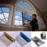 1 X 100x30cm Spiegelfolie Fensterfolie Spiegel Folie Fenster Glas Scheiben Spion