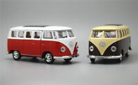 1:43 Alloy Car Kids Toys Volkswagen T1 Classical Bus Pull Back Vehicles Model