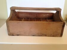 Antique Wooden Tool Carrier