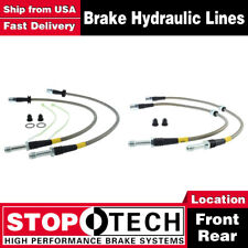 3 Series 00-07 StopTech Stainless Steel Brake Lines F//R BMW E46 M3 01-06