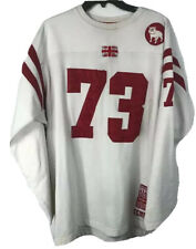 Pepe Jeans London Anniversary Sewn Jersey L # 73 Bulldog Flag Football Red White